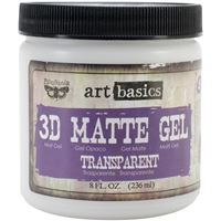Picture of Finnabair Art Basics 3D Matte Gel Medium - Transparent