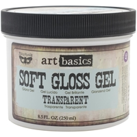 Picture of Finnabair Art Basics Soft Gloss Gel Medium - Transparent
