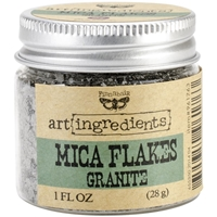 Εικόνα του Finnabair Art Ingredients Mica Flakes - Granite