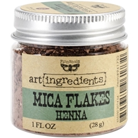 Picture of Finnabair Art Ingredients Mica Flakes - Henna