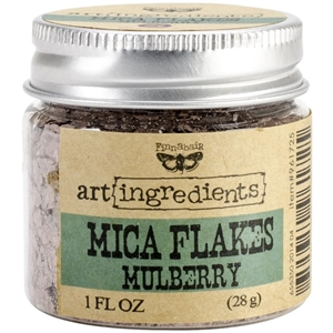 Picture of Finnabair Art Ingredients Mica Flakes - Mulberry