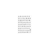 Εικόνα του Stampendous Perfectly Clear Stamps - Tiny Alphabet