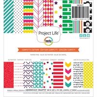 Εικόνα του Project Life Paper Pad 15X15 - Confetti Edition