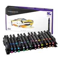 Picture of Prismacolor Premier Double - Ended Chisel Tip Marker Set of 24
