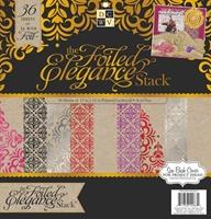 Εικόνα του Μπλοκ χαρτιών 30.5 x 30.5 cm - The Foiled Elegance Stack