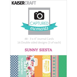 Picture of Captured Moments 3x4 Cards - Sunny Siesta