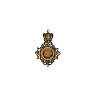 Εικόνα του Gilded - Pendants: Royal Medallion Gold