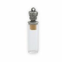 Εικόνα του Gilded - Pendants: Royal Treasure Vial Silver