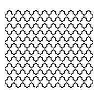 Εικόνα του Stencil 15x15 - Mini Quatrefoil Reversed