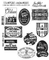 Εικόνα του Σετ Σφραγίδες Travel Labels