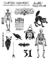 Picture of Σφραγίδες Tim Holtz - Mini Halloween