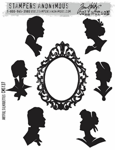 Picture of Σφραγίδες Tim Holtz - Artful Silhouettes