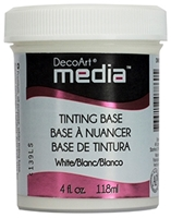 Picture of DecoArt Media Tinting Base White 4oz