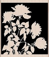 Picture of Silhouette Meadow - Wood Mounted Stamps