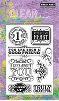 Picture of Clear Stamp Set - Cheer Up