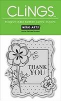 Picture of Cling on Foam Stamp Set - Thank You