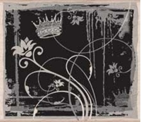 Picture of Silhouette Meadow - Misty Floral And Crown