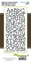 Εικόνα του Μήτρα Κοπής Γραμματοσειρα - Typewriter Font