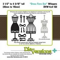 Εικόνα του Μήτρες Κοπής Steel Die Whispers - Dress Form Duo