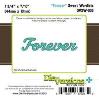 Εικόνα του Steel Die Sweet Wordlets - Forever