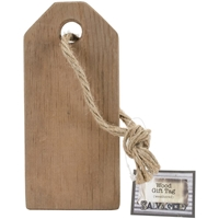 Εικόνα του Wood Gift Tag - Weathered Wood