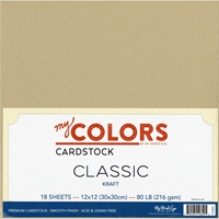 Εικόνα του My Colors Classic Cardstock Bundle - Kraft