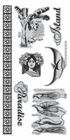 Picture of Cling Stamps - Tropical Traveloque 3
