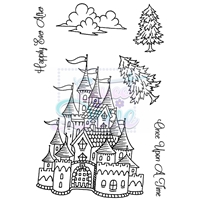 Picture of Clear Stamp  A6 - Σφραγίδες - Fantasy Castle