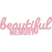 Εικόνα του Μητρα Κοπης Word Die - Beautiful Memory