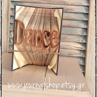 Picture of Book Folding Pattern - Dance