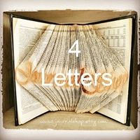 Picture of Folded Book - 4 Letters