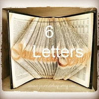 Picture of Folded Book - 6 Letters
