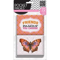 Picture of Pocket Pages Themed Cards 72/Pkg - Friends