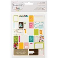 Picture of Project Life Themed Cards - Planner