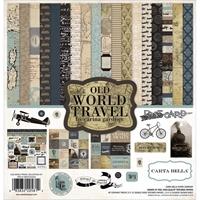 Εικόνα του Carta Bella Collection Kit 30.5X30.5 - Old World Travel