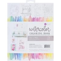 Εικόνα του Prima Marketing Watercolor Coloring Book - Frameable Pages