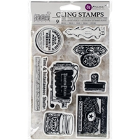 Εικόνα του Iron Orchid Designs Cling Stamps - Curiosities