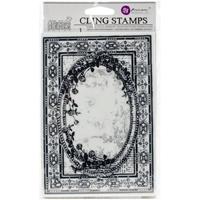 Εικόνα του Iron Orchid Designs Cling Stamps - Ornate Frame