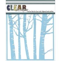 Εικόνα του Clear Scraps Stencil - Forest