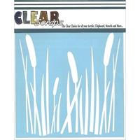 Εικόνα του Clear Scraps Stencil - Cattails