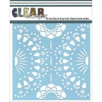 Εικόνα του Clear Scraps Stencil - Doily