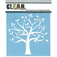 Picture of Clear Scraps Stencil - Family Tree