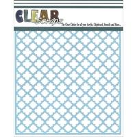Εικόνα του Clear Scraps Stencil - Quaterfoil
