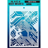 Picture of Brett Weldele Stencils - Circuit