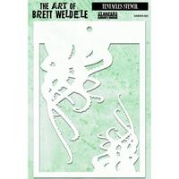 Εικόνα του Brett Weldele Stencils - Tentacles
