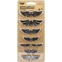 Picture of Mechanicals Metal Embellishments - Winged