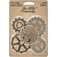Εικόνα του Idea-Ology Metal Gadget Gears - Antique Nickel, Brass & Copper
