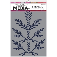 Εικόνα του Dina Wakely Media Stencils - Boughs