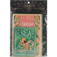 Picture of Voyage Beneath The Sea Ephemera Cards