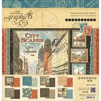 Εικόνα του Μπλοκ Χαρτιων Graphic 45 30.5X30.5 - Cityscapes